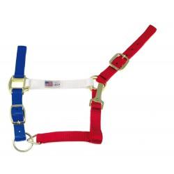 Umbria Rood-Wit-Blauw Halster
