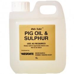Gold Label Pig Oil & Sulphur