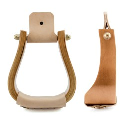 Metalab Wooden Shaped Stirrup