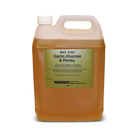 Gold Label Garlic, Glucose and Honey