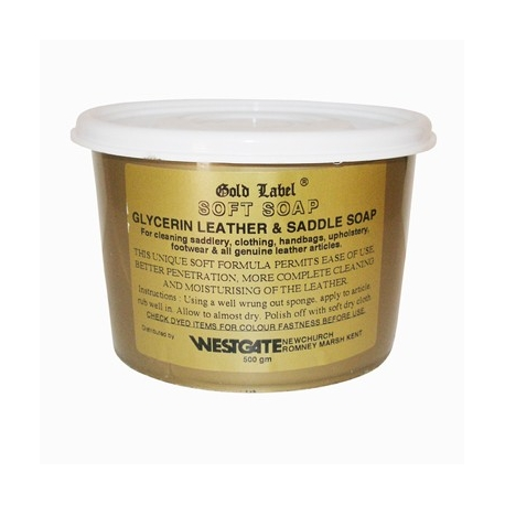 Gold Label Soft Saddle Soap