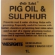 Gold Label Pig Oil & Sulphur