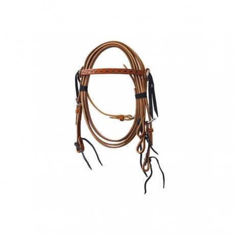 Western Hoofdstel Lakota Inlay Pony